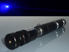 ⚠ Fokussierbarer High Power Laserpointer / Blau - Violett / Akku / Musterkappe