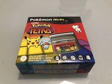 Jeu Pokemon Mini Tetris Version Européenne Nintendo Neuf En Boite New In Box