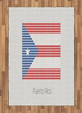 Puerto Rico Alfombra de Área La bandera nacional con los puntos