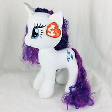 """15"""" TY Sparkle My Little Pony Plush Rarity With Tags"""