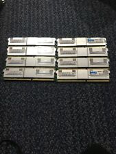 LOT of 8 4GB Hynix HP 2Rx4 PC2-5300F DDR2 RAMHYMP151F72CP4N3-Y5