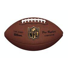 Wilson nfl duke replica en cuir premium composite football américain, WTF1825