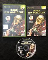 2002 FIFA World Cup — Complete! Fast Shipping! (Microsoft Xbox 2002) Korea Japan