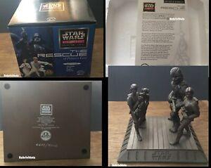 STAR WARS Classic Collectors Series RESCUE of PRINCESS LEIA Statuette LTD ED