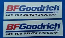 BFGoodrich (A) Racing Decals stickers nhra nhrda atv offroad hotrods off road