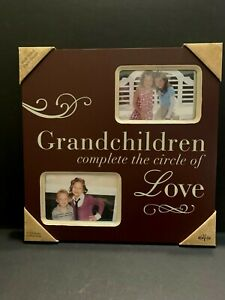 Grandchildren Complete the Circle  of Love Picture Frame NEW