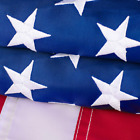 American Flag 2X3 Outdoor - Nylon Us Flags With Embroidered Stars, Stitched Stri