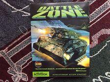 BATTLE ZONE -  PC GAME - BIG BOX