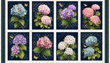 "Wilmington Hydrangea Dreams by Michael Davis 96435 143 - 24"" Panel Cotton Fab"