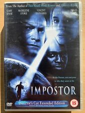Imposter DVD 2001 Philip K. Dick Cult Sci-Fi Film Movie Director's Cut