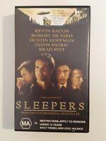 Sleepers VHS Video Tape - Kevin Bacon, Robert De Niro and Brad Pitt