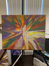 canvas spin art