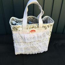 Kitsch Kitchen,Handtasche,Einkaufstasche, Wasserabweisend Wachstuch Shopping Bag