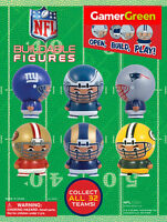 (1)  NFL BUILDABLE MINI FIGURE FOOTBALL PICK YOUR TEAM FULLY ASSEMBLED