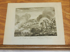 c1800 Antique Print//BATTLE OF PRAGUE IN BOHEMIA MAY 6, 1757