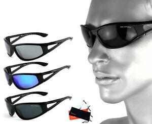 Rennec Sport Sonnenbrille Polarisiert Anglerbrille Laufbrille Motorradbrille P80