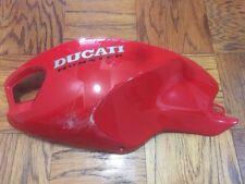 Ducati Monster 1100 796 696 Gloss Red Tank Left Side Cover Fairing.