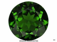 CHROME DIOPSIDE 12 MM ROUND CUT OUTSTANDING GREEN COLOR ALL NATURAL