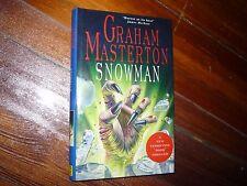 Snowman Graham Masterton HC/DJ