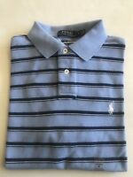 NWT POLO RALPH LAUREN MEN  SMALL PONY MESH CUSTOM FIT POLO RUGBY S/S SHIRT M_XL