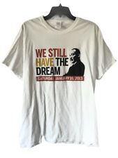 MLK Martin Luther King Jr Dream Obama Presidential Inauguration T-Shirt Size L