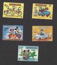 Antigua Disney stamps overprinted REDONDA MNH (5)