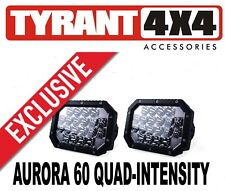 Offroad Bull Bar Nudge Bar Aurora Super Intensity LED Driving Lights Quad Lamps