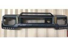 G63 G65 Style Front bumper+spoiler lip &LED For All W463 G Class G500,G55,G550