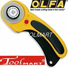 OLFA RTY-2/DX 45mm Deluxe Safety Rotary Cutter Ergonomic Cutting Tool japan NEW