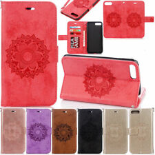 Mandala Flip Leather  Wallet  Card Stand Case Cover For iPhone 5 6S 7 8 Plus X