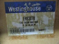Westinghouse EHB3070, 70 Amp 3 Pole 480 Volt Circuit Breaker- NEW