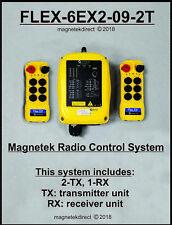 Magnetek FLEX-6EX2-09-2T  -New- Overhead Crane Hoist Radio Remote Control System
