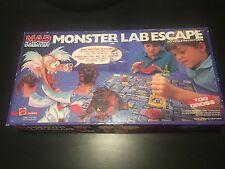 Mad Scientist Monster Lab Escape board game 1987 Mattel Complete 4653 Rare