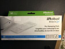 NEW iRobot Braava Jet Dry Sweeping Pads Genuine 10 pack a5