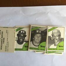 Rare 1978 Wisconsin Rapids  Minor League Team Set,   Moe Hill