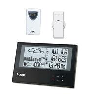 Funk  Wetterstation WS800 Twin mit 2 Funksensoren SlimLine Barometer