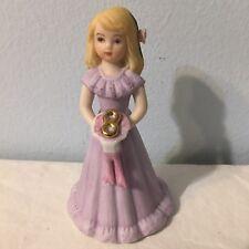 Birthday Girl Age 8 Enesco Blonde Medium Long Blonde Hair