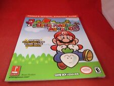 Super Mario Advance Nintendo Game Boy Advance Strategy Guide Player's Hint Book