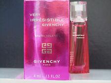 Very Irresistible Givenchy Perfume Women 0.13 oz Eau de Toilette Splash Mini