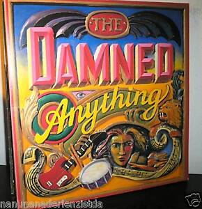 Damned - Anything - LP von 1986 - Stand up Cover