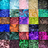 """100% Pure Authentic Silk Taffeta 2-Ply Hand Made Fabric 40""""W BTY Color #1-30"""
