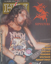 HM 126 1992 Sepultura Mercyful Fate Skid Row Dismember Love Hate Sadist Wolfsban