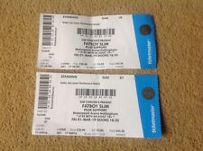 Fatboy Slim Used Gig Concert Tickets Motorpoint Ice Arena Nottingham 01.03.19