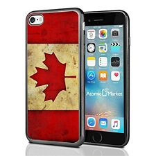 Canada Canadian Flag Grunge For Iphone 7 Case Cover By Atomic Market