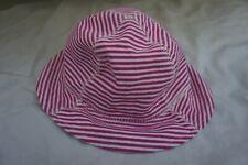 San Diego Hat Company Baby Sun Hat beach Red White stripe boy girl 0-12 months