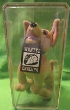 Taco Bell Chihuahua Wanted Chalupa Sign Talking in Collectors Box Plush