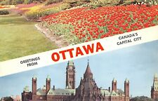 Greetings From Ottawa Canada's Capital City Ontario ONT 499