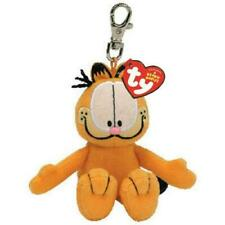 Ty Beanie Babies 40603 Garfield The Orange Cat Key Clip