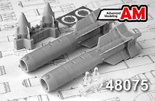 KAB-500L 500kg Laser-Guided Bomb (Su-24/25/30/33...) AMIGO RESIN 1/48