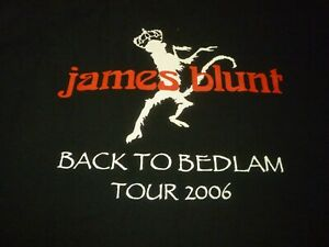 James Blunt Stage Crew Shirt ( Size XL ) NEW!!!